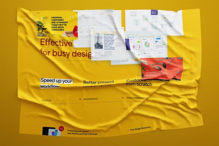 efecto tela sobre tu diseno grafico - Cómo hacer el efecto tela sobre tu diseño con Photoshop