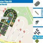 elementos de mapas google psd - Crea tu Google Map 3D con Photoshop