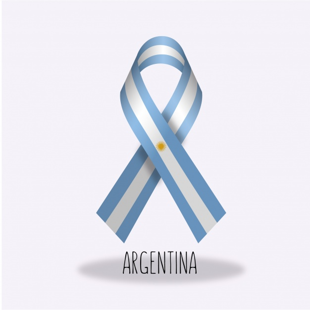 escarapela lazo argentina - Escarapela Argentina de lazo en vectores