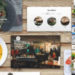 estilo de marca restaurant bajar - Estética para Restaurante en PSD para Bajar Gratis