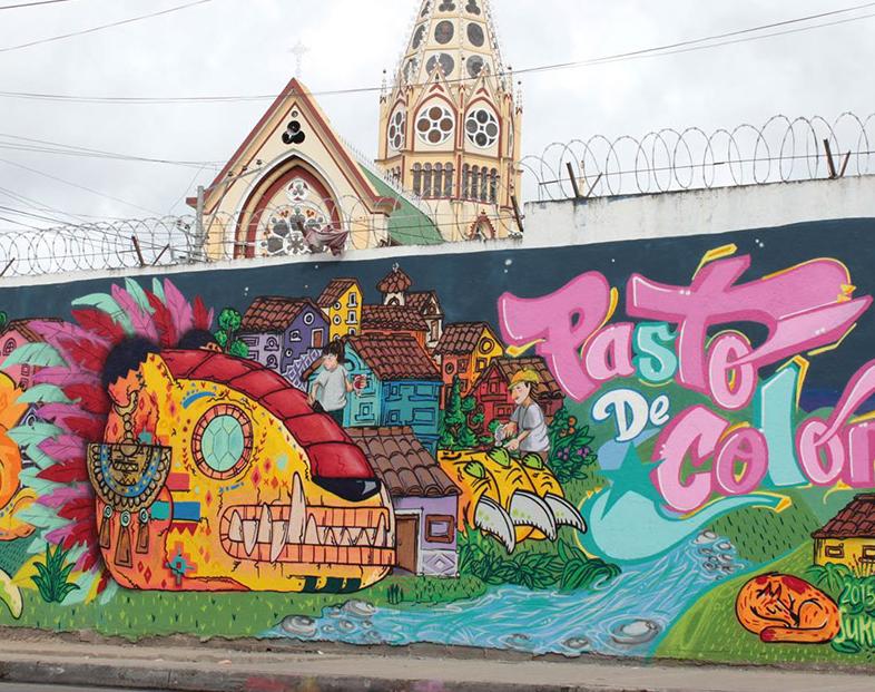 Entrevista a Felipe Barahona - Graffitero - Muralista