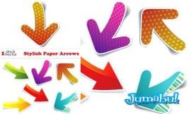 flechas stickers - Flechas con estilo de etiquetas