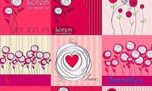 flowers flores - Vectores Románticos