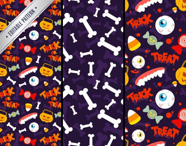fondo halloween - Fondo con Dibujos de Halloween para Decorar