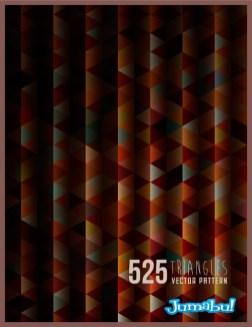 fondo vectorizado geometrico - Fondos Geométricos Triangulares en Vectores