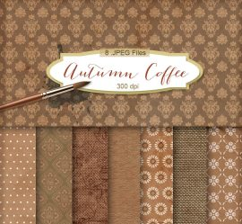 fondos cafe e1477395562971 - Fondos color café con ornamentos vintage
