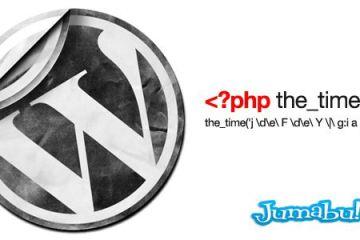 formato fecha wordpress1 - Dar Formato a Fechas de Wordpress