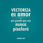 frases romanticas disenadores graficos - Excelente frase para compartir!
