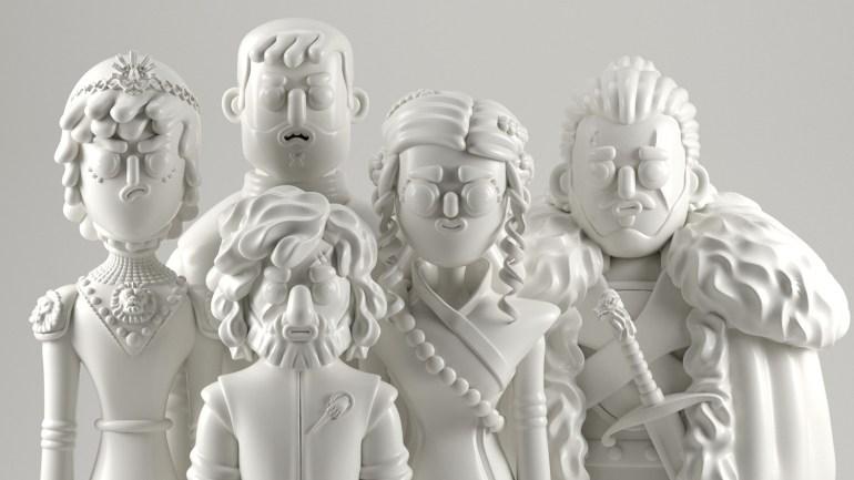 games of thrones concept art 1024x576 - Conoce los personajes de Games of Thrones en 3D (Fan Art)