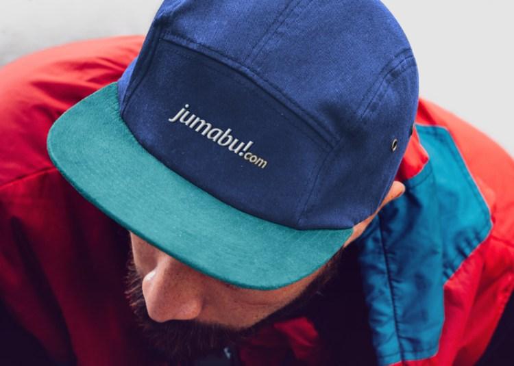 gorra mockup 1 - Photoshop MockUps de una gorra con vicera