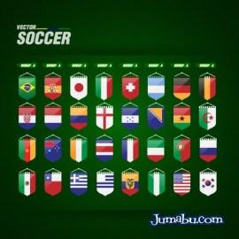 grupos mundial brasil 2014 vectores - Grupos del Mundial de Fútbol Brasil 2014 en Vectores