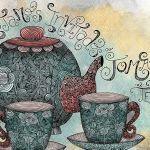 hora del te lettering illustration xoana - Entrevista a Xoana Damiano - Lettering Argentina