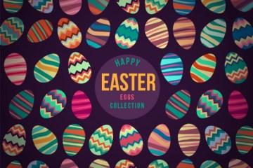 huevos de pascua disenos coloridos - Diseños coloridos de huevos de pascua