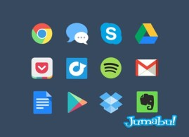 icono google drpbox gmail - Iconos de Productos Google en Photoshop