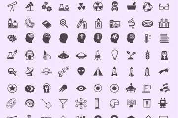 iconos ciencia vectorizados - Iconos de Ciencia en Formato Vectorial (SVG)