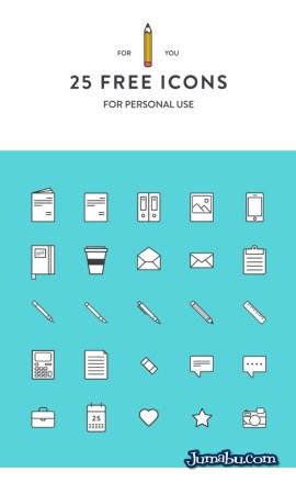 iconos dibujados a mano - Pack de Iconos Dibujados a Mano en Vectores