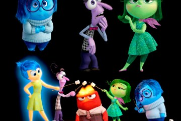 inside out png transparente - Descarga los personajes de Inside Out con fondo transparente