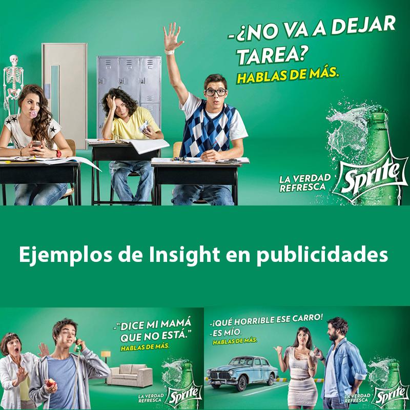 Ejemplos de Insights en publicidades
