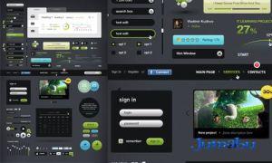 interfaz de usuarios website - Interfaz de Usuarios en Photoshop