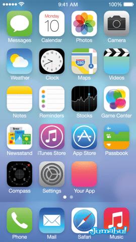 ios7 iconos nuevos psd photoshop - Iconos en PSD IOS 7