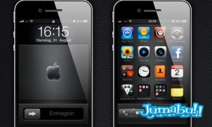 iphone 4 photoshop - IPhone 4 en PSD