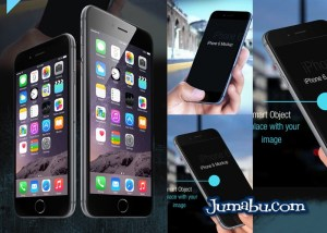 iphone 6 black mockup - Descarga Gratuita de MockUp Iphone 6 en formato PSD