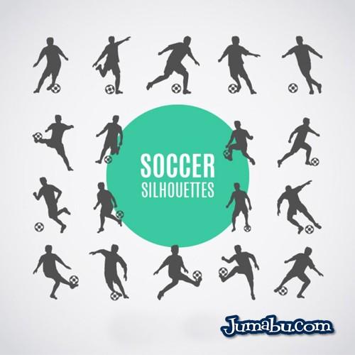 jugadores-de-futbol-siluetas-descargar-gratis