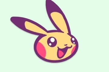 jumabu com picachu vectores - Icono de Pikachu en vectores