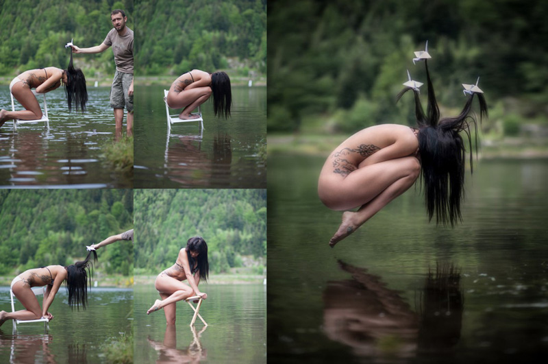 Efectos de Levitación en Photoshop