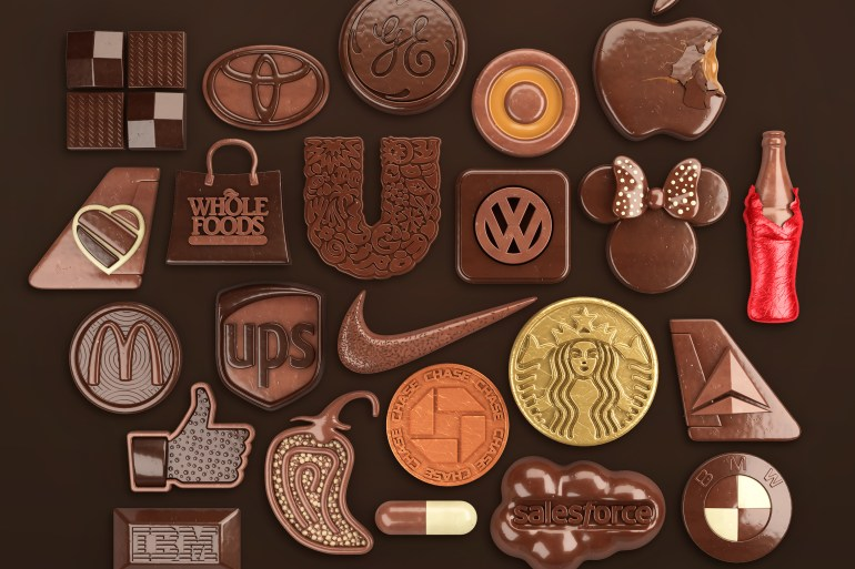 logos de marcas chocolate - Conoce el fascinante trabajo de Chris Labrooy