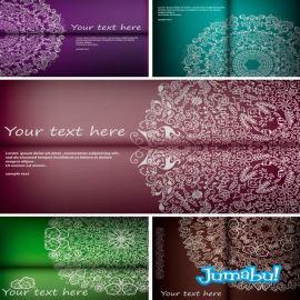 ornamentos-arabescos-vectorizados