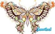 mariposa-en-vectores []