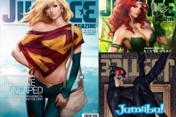 marvel mujeres heroinas - Las Heroinas de Marvell y DC son Tapas de Revista!