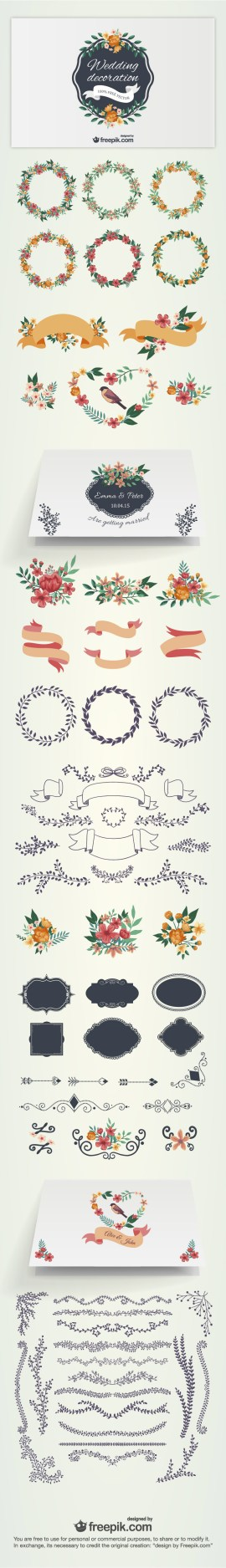 material invitacion casamiento - Material para Diseñar Invitaciones para Bodas