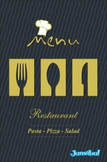 menu en vectores - Vectores para Logo o Menú de Restaurante