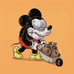 mickey mouse anciano - Caricaturas de superhéroes ancianos