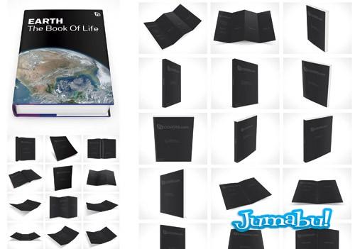 mock up desplegables folletos tripticos1 - Más de 100 Mock Ups de Bolsas, Flyers, Trípticos, Libros, CD