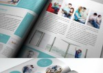 mock up revista 3d - Mock Up de Revista en 3D para InDesign