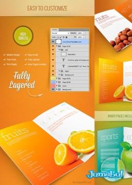 mockup carpeta de presentacion - Mock Up Brochure o Carpeta de Presentación en PSD