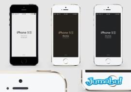 mockup iphone5s - Mock Up de Iphone 5s en Photoshop