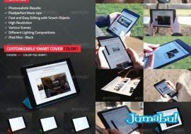 mockup tablet - Mock Up de una Tablet Negra para Editar en Photoshop
