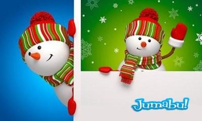 bufanda-snowman-christmas