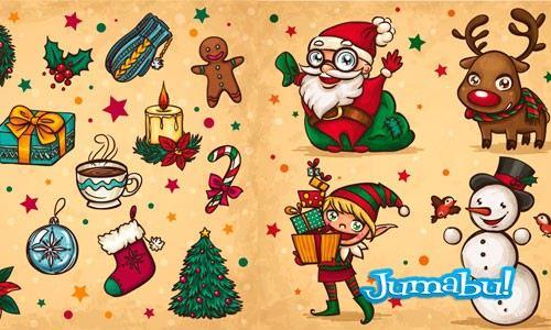 navidad-dibujos-a-mano