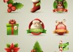 navidad iconos excelentes - Excelentes Iconos Navideños en 3D Vectorizados