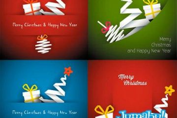 navidades origami - Recursos Navideños en Vectores con Estilo Origami!