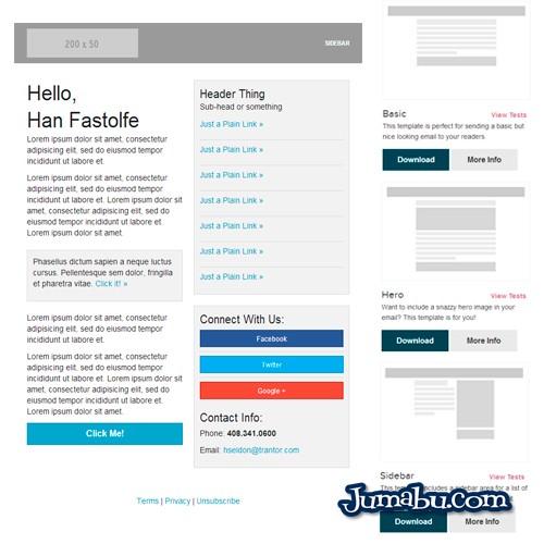 newsletter plantillas html - Plantillas HTML para Envío de Newsletters
