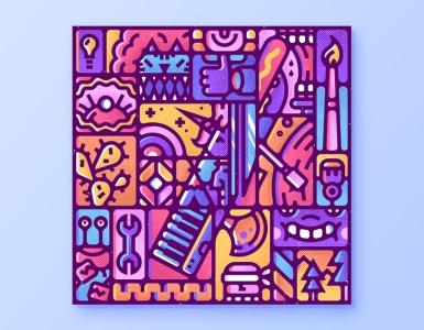 numero siete diseno - Enisaurus y su meticuloso trabajo de diseño gráfico