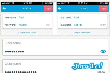 ocultar password tutorial - Ocultar o Mostrar Contraseñas con JQuery