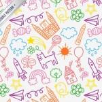 pattern en vectores infantiles - Fondos en Vectores para Niños
