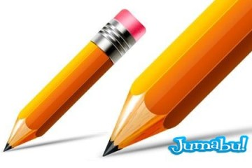 pencil psd lapiz photoshop - Lápiz en Photoshop Totalmente Editable